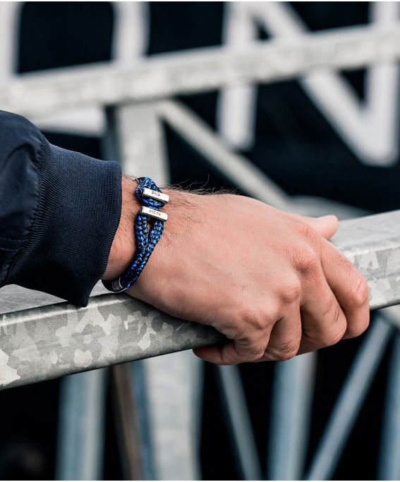 Icy Ike Navy - Cobalt | Silver M