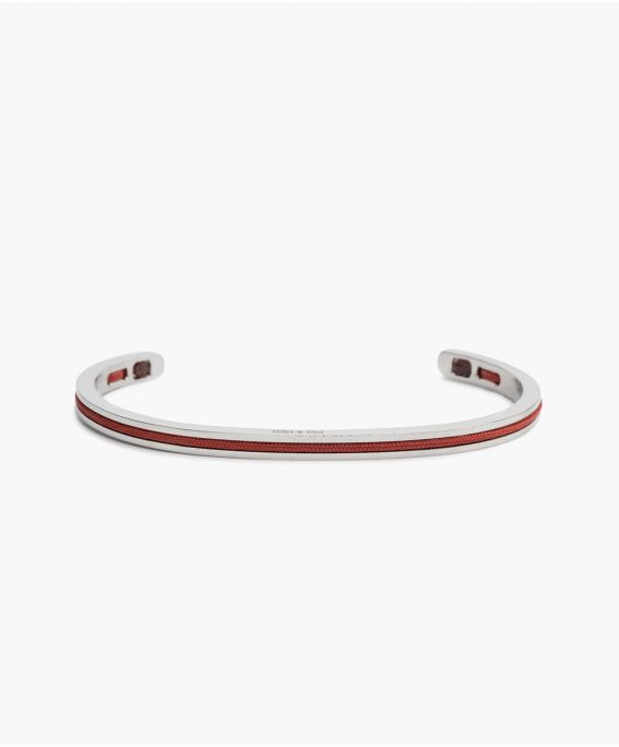 Navarch 4MM Coral Red | Silver M