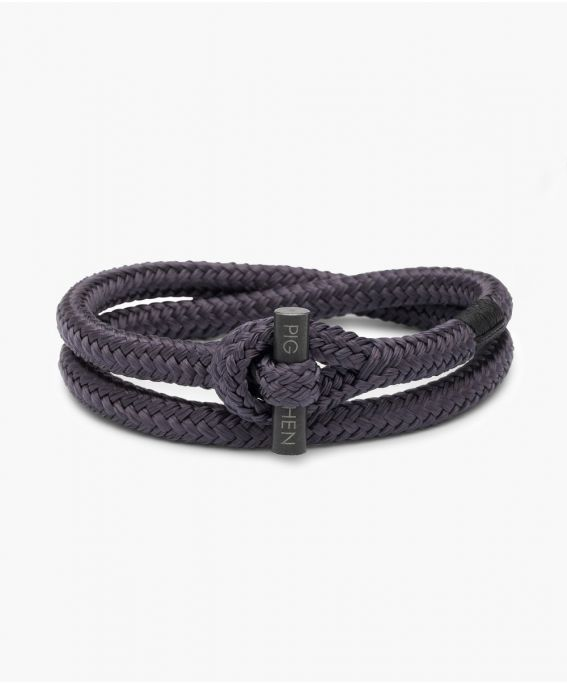 Tiny Ted Slate Gray | Black M