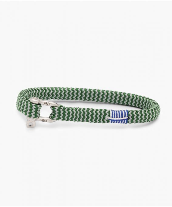 Vicious Vik Jungle Green - Light Gray | Silver M