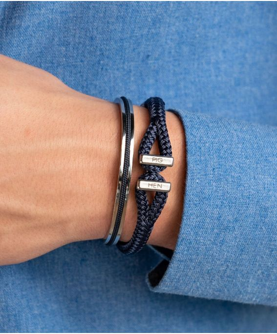 Navarch 6MM Navy | Silver M