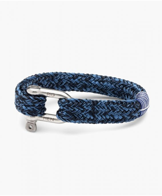 Gorgeous George Navy - Violet Blue | Silver M