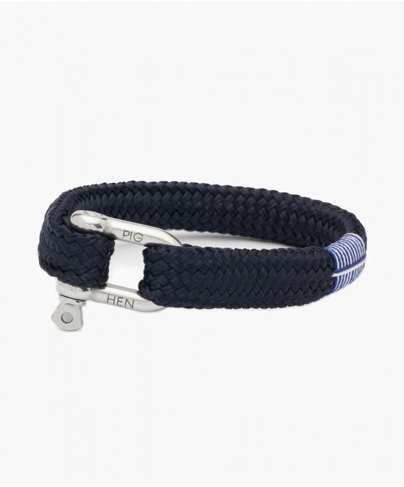 Gorgeous George Navy | Silver M