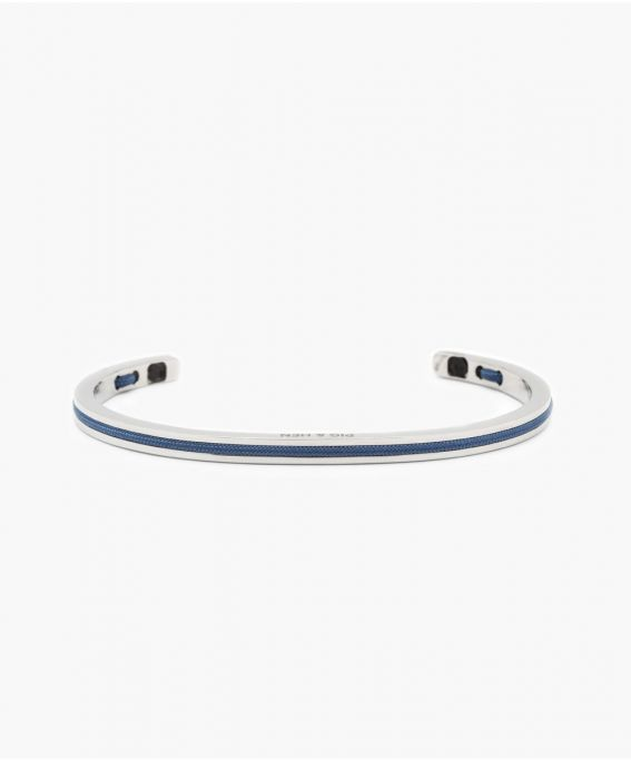 Navarch 4MM Violet Blue   Silver M