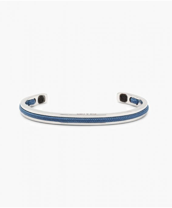 Navarch 6MM Violet Blue | Silver M