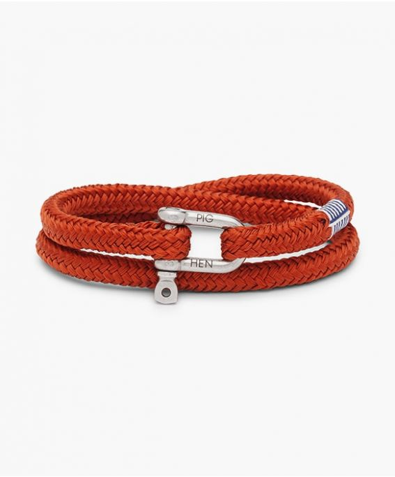 Salty Steve Coral Red | Silver M