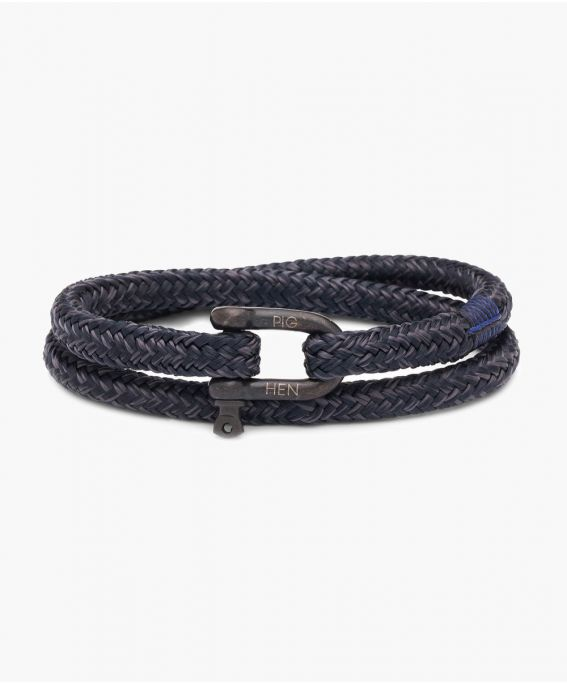 Salty Steve Navy-Slate Gray | Black M