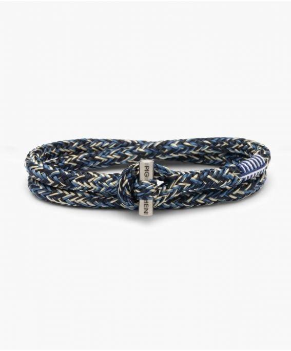 Tiny Tiny Navy - Ivory - Violet Blue | Silver M