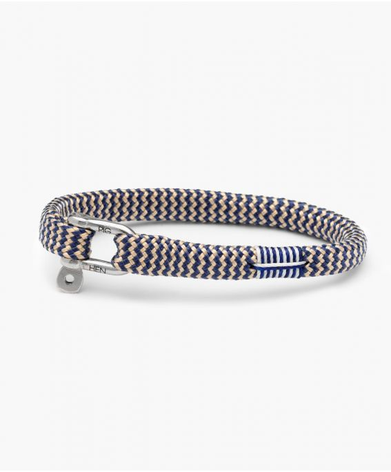 Navy / Sand collection Vicious Vik Navy - Sand | Silver M